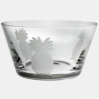 Rolf Glass Pineapple 4-pc. Small Bowl Set