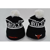 Perfect Chicago bulls Women Men Embroidery Beanies Knit Hat Cap