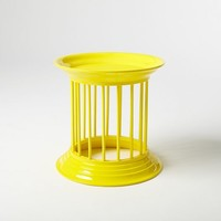 Gates Lacquer Side Table - Lemon
