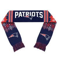 New England Patriots  Official NFL Lodge Scarf