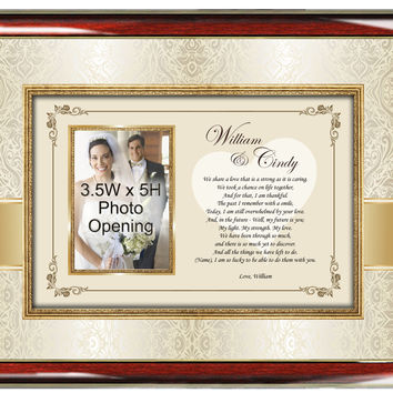 Poetry Gift Romantic Picture Frame
