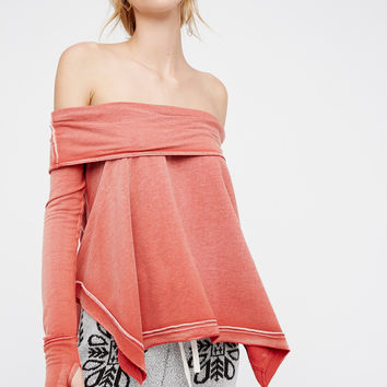 Free People Foggy Day Pullover