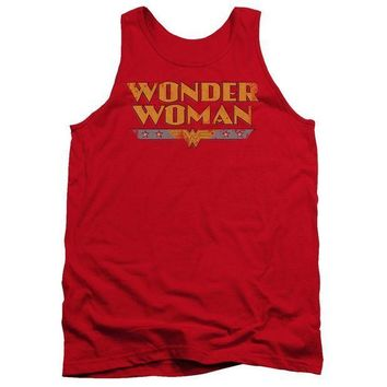 CREYM83 Wonder Woman Logo Adult Tank