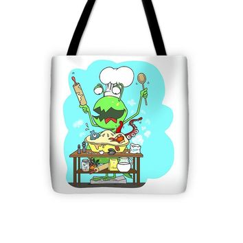 Peter And The Closet Monster, Baker - Tote Bag