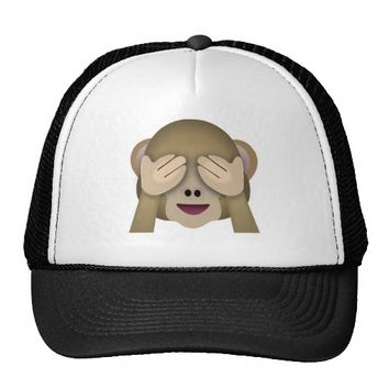 EMOJI SEE NO EVIL MONKEY