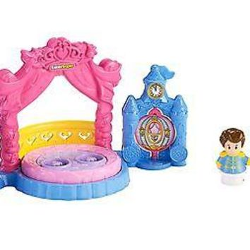 Fisher-Price Little People Disney Princess Cinderella's Ball