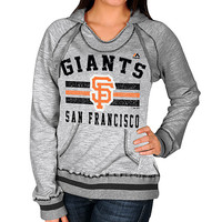 San Francisco Giants Women's All Time Slugger Hooded Fleece by Majestic - MLB.com Shop