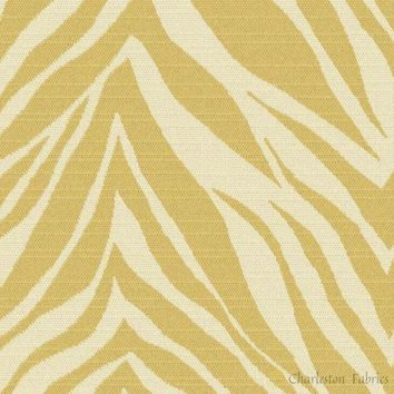 Crazy Horse Lemongrass outdura fabric