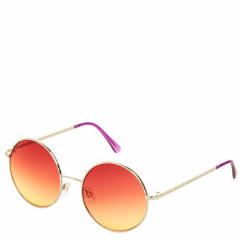 Morris Metal Round Sunglasses