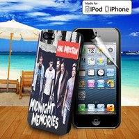 1D Midnight Memories Album case for iPhone 5, 5S, 5C, 4, 4S and Samsung Galaxy S3, S4 and ipod Touch 5