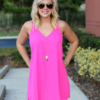 Until The End Dress - Pink