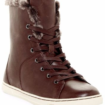 UGG Australia Croft Shearling / Leather Boots