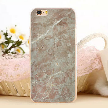 Creation Marble Stone Protect iPhone 5s 6 6s Plus creative case + Gift Box-131