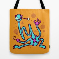 Hi Tote Bag by Artistic Dyslexia | Society6