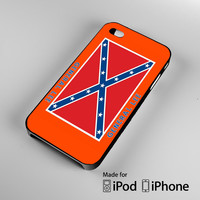General Lee Roof Logo The Dukes of Hazzard A0618 iPhone 4S 5S 5C 6 6Plus, iPod 4 5, LG G2 G3, Sony Z2 Case