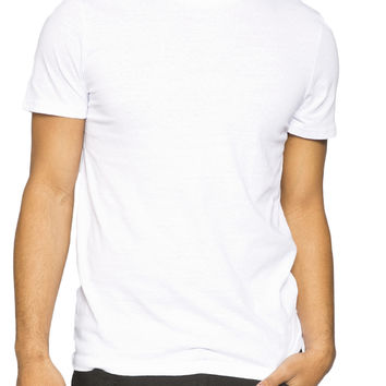 Guys Marled Crew Neck Tee