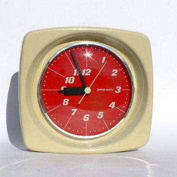 Mid century wall clock by Gorenje / atomic design, Yugoslavia