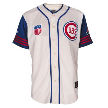 Chicago Cubs Majestic 1942 Wrigley Field 100 Years Cubs Replica Throwback Baseball Jersey – Cream