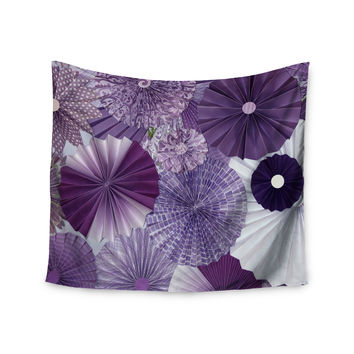 "Heidi Jennings ""Lavender Wishes"" Purple Wall Tapestry"