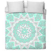 Bed Spread Mint Green