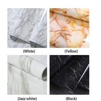 1Pcs Marble renovation waterproof Moisture-Proof adhesive stickers PVC wallpaper wallpaper wall stick mesa table furniture