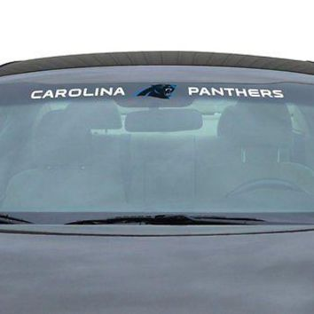 Carolina Panthers NFL Licensed Auto Car Truck Windshield Decal
