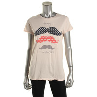 Zara Trafaluc Womens Cotton Short Sleeves Graphic Tee