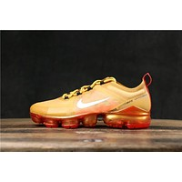 Nike Air VaporMax 2019 Crimson Gold Running Shoes