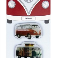 VW Camper Bus Magnets - Set of 3