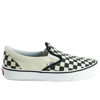 Vans Slip-On Lite (Checkerboard) Black/White