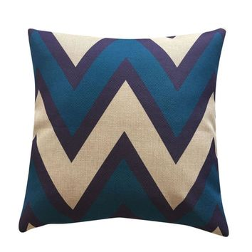 Geometry Pillow Cover Throw Pillow Case pillowcase for the pillow 45*45 solid color
