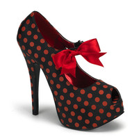 Bordello polka dot Platform Heels