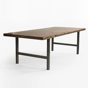 Urban Wood and Steel Conference Table