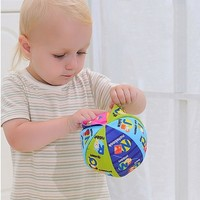 Baby Cloth Toys Word Picture Developt Balls Colorful Intelligence Toys for Boys and Girls Cognize Book Accessories VE0092