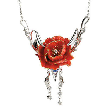 Franz Collection Peony Necklace