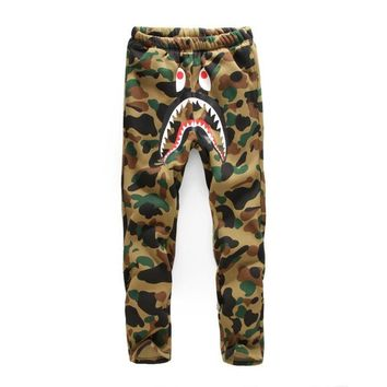 Men's Fashion Casual Thicken Men Camouflage Couple Pants [136012005395]