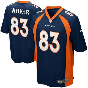 Wes Welker Denver Broncos Nike Youth Alternate Game Jersey – Navy Blue - http://www.shareasale.com/m-pr.cfm?merchantID=7124&userID=1042934&productID=527999554 / Denver Broncos