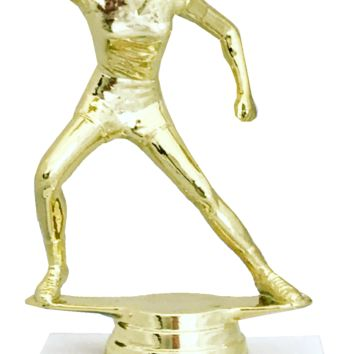 Give the Patriarchy a Good Smack on the Ass and Tell It To Smile More Often Gold Trophy with Marble Base