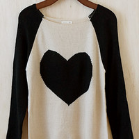 Matters Of The Heart Sweater