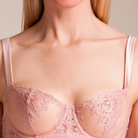 Fleur of England: Affection Demi-Cup Bra | Nancy Meyer