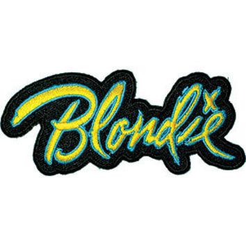 Blondie Men's Embroidered Patch Black