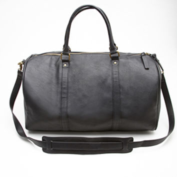 FOREVER 21 Faux Leather Duffle Bag