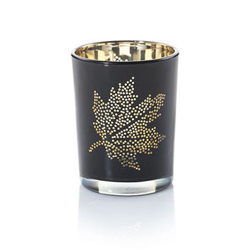 Black Maple Flickering : Votive Holder : Yankee Candle