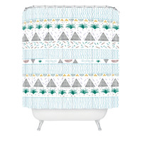 Kris Tate Kowaii Shower Curtain