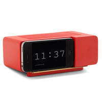 Wake Up Call iPhone Dock in Red | Mod Retro Vintage Electronics | ModCloth.com
