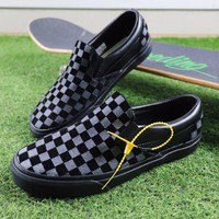 Best Online Sale Vans Vault x N.Hoolywood Slip On Black Grey Chekerboard Sneakers