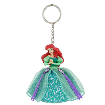 Disney Parks Princess Ariel Tulle Keychain New with Tags