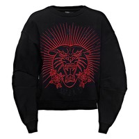 EMBROIDERED TIGER SWEATER on Guess.eu