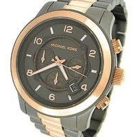 Michael Kors Runway Chronograph Two-tone Unisex Watch MK8189
