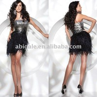 Strapless Sparkle Bodice Short Party Dress - Product Picture From Jessica Fashion Dress Co., Ltd.